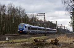 ED160-008 (Łukasz Draheim) Tags: railroad train landscape landscapes nikon scenery transport poland polska rail railway bydgoszcz pkp kolej pociąg scenerie d5200