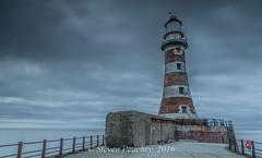Whos Left The Light On (Steven Peachey) Tags: uk morning winter sea england sky lighthouse clouds canon coast pier exposure sunderland roker northeastcoast ef1740mmf4l rokerpier lee09gnd canon6d lee06gnd stevenpeachey