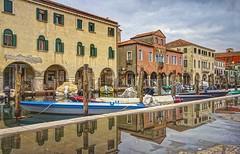 CHIOGGIA (FRANCO600D) Tags: italy canon italia sigma barche case laguna borgo hdr canale citt chioggia riflesso veneto pozzanghera ormeggio bellitalia eos600d franco600d