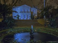 casa-palacio (Franreme (Fco. Delgado)) Tags: night canon la jardin concepcion palace botanico nocturnas malaga linternas