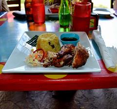Jamaica February 2016 (Look @ Life) Tags: travel vacation food chicken lunch island essen rice drink urlaub reis insel huhn jamaica ferien reise mittag caribean karibik jamaika