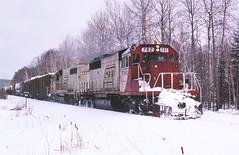 911 near the campground (ac1756) Tags: michigan sooline soo troutlake emd sd402 782 train911