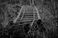 rail road (nownowfatcat) Tags: railroad railway line transportation disabled railwayline weak frail infirm railroadtrack feeble railline  weakly railroadline railwaysystem