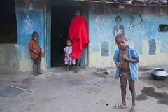 Tribal village (wietsej) Tags: family india rural village tribal hills 1750 tamron chhattisgarh minoltadynax7 maikal