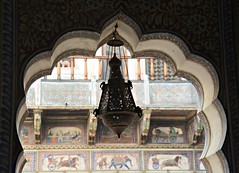 Ornament lamp (Scossadream) Tags: door light woman india elephant colour bus brick stone kids children temple kid women squirrel gallery desert fort shepherd balcony delhi indian faith swastika flock plate flamingos palace camel mausoleum dome spacemonkey worker superstition bikaner karnimata jaisalmer rajasthan jodhpur redfort humayunstomb jamamasjid smp mehrangarh bluecity mandawa badabagh divinities svastica junagarh thardesert scossa jaswantthada indiangate d7100 worldpeacegong lucaguizzardi spacemonkeypictures nikond7100