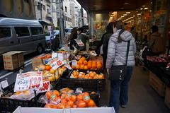 Leena shops for fruit (pennykaplan) Tags: japan tokyo leena