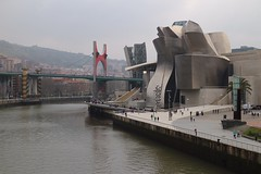 Guggenheim Bilbao Museoa (Towner Images) Tags: bilbao basque spain architecture frankgehry guggenheim museum artgallery culture towner townerimages titanium limestone curve curvilinear abstract elevation wharf riverside location site siting aspect computeraideddesign architect design museoa euskadi