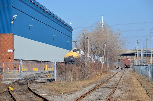 Only part of the Lachine Spur still in use