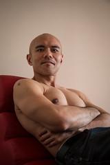 IMG_1447 (Zefrog) Tags: uk portrait man london pecs asian topless johann zefrog