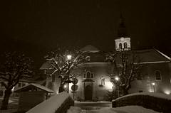 (dadou~) Tags: street france alps night rue nuit ricohgr frenchalps morzine