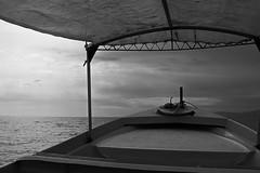 ode to golden mexican cinema (Armando J.) Tags: white black landscape boat cine mexicano ancla
