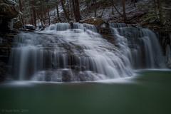 Freedom Falls  (Explored) (Scott of SWPA) Tags: longexposure 35mm nikon pennsylvania cranberry waterfalls lightroom rockland f20 westernpa d700 freedomfalls kennerdellroad