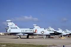 120th FIG Convair F-106A Delta Dart 57-2487 (15) (Wing attack Plan R) Tags: 1982 fighter interceptor convair deltadart tyndallafb f106a montanaang 120thfig 186thfis 572487