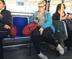 TTC Ediquette61 (jmith1) Tags: terrible hogging inconsiderate fatwoman takingup2seats