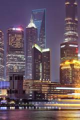 Shanghai Pudong (david.bank (www.david-bank.com)) Tags: china architecture night asia shanghai