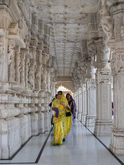 Bhuj -   Swami Narayan Temple (Rita Willaert) Tags: india temple narayan swami gujarat in kutch bhuj swaminarayantemple
