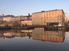 Helsinki (kirstima) Tags: morning sea sunrise mirror helsinki