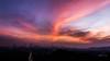 廣州火爐山黃昏火燒雲 (FuryBB) Tags: sunset clouds bluehour 日落 黄昏 云彩 火炉山