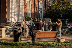 The 'Boro Series - Pickin' on the Square (Mr. Pick) Tags: music square tn bluegrass tennessee courthouse picking murfreesboro rutherfordcounty