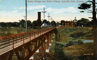 Radial Bridge in Oakville