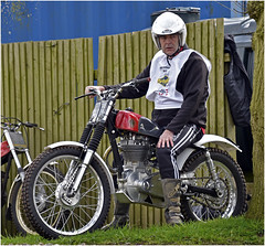 Classic bike show, Stafford 2016. Ariel HT5 or similar (Pitheadgear) Tags: ariel bike offroad motorcycles bikes trials motorcycling classicbikeshowstafford