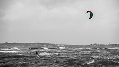 Gone for the summer (OR_U) Tags: ocean uk kite beach water wales cutout coast waves wind widescreen kitesurfing oru 169 beachboys selectivecolour 2016 rhosneigr rhosneigrwest