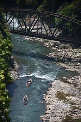 Hozukyo (Hakutsugu) Tags: river kyoto gorge