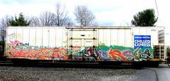 agodr - versuz (timetomakethepasta) Tags: train graffiti express freight lts reefer chilled armn agod kog versuz agodr