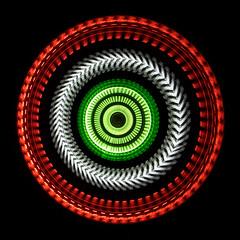 Aztec Sun Stone (auroramovement) Tags: circle rotation disc glpu lpwa kreisscheibe berlin lightpainting langzeitbelichtung bulb lightdraw oneexposure longexpo lichtkunstfotografie lichtperformance lapp lightart lightartphotography lightgraff lichtkunst lichtmalerei lichtspiel