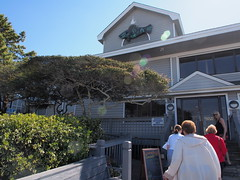P3220118 (photos-by-sherm) Tags: ocean kite beach restaurant flying spring atlantic walkers wrightsville