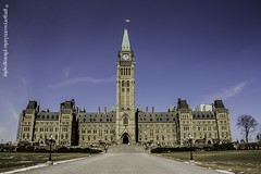parliament hill like a postcard [2] (gregoryscottclarke photography) Tags: canada ottawa warmemorial parliamenthill