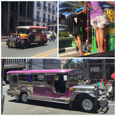 . The jeepneys They were originally made from US military jeeps... (Total TaiTai) Tags: spring break philippines manila jeepney cjthephilippines2