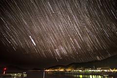 Star Trail @ Zamami  (raisin bun) Tags: japan night nightshot  okinawa nightscene   starrynight startrail zamami  zamamiisland       zamamivillage zamamiport