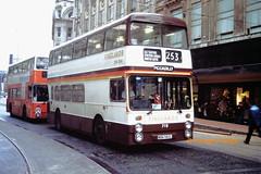 Finglands 719 (WBN 983L) (SelmerOrSelnec) Tags: bus manchester marketstreet leyland parkroyal gmt selnec atlantean finglands wbn983l