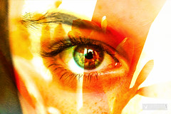Adrien's eye (triple exposure) (joly_jeff) Tags: food paris seine photography timelapse louvre doubleexposure eiffel dslr tripleexposure focusstack 24105mm jewells canon5dmarkiii jewellerypics wwwjeffjolycom jeffjoly equipeinteractivecom