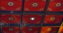 Buddist Temple, Chengdu (radio53) Tags: china temple swastika buddhism szechuan sichuan buddist symbolism