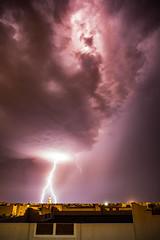 Lightning (herringtoncolin25) Tags: roof storm rain thunderstorm lightning thunder 2016 kaust