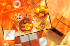 Re-ment Addicts Colour Challenge - Orange (Random Life Project) Tags: orange toys miniatures rement japanesetoy colorchallenge megahouse colourchallenge rementaddicts