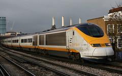 109536 3008 Wandsworth Road Station 10.11.07 (31417) Tags: eurostar emu wandsworth 373 3008