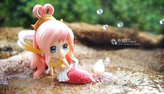 Princess Shirahoshi (Thai Toy Photographer) Tags: anime beach water japan toys model princess chibi cartoon manga figure mermaid figurine onepiece figures toyphotography chibiarts shirahoshi
