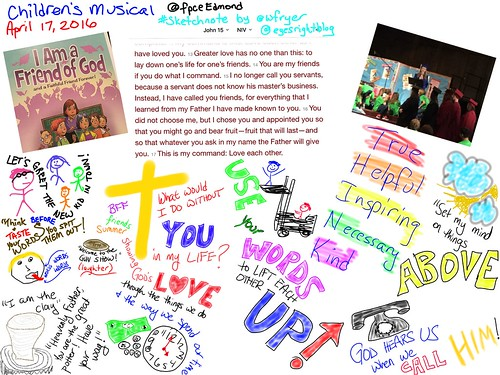 Children's Musical Sketchnote by Wesley Fryer, on Flickr
