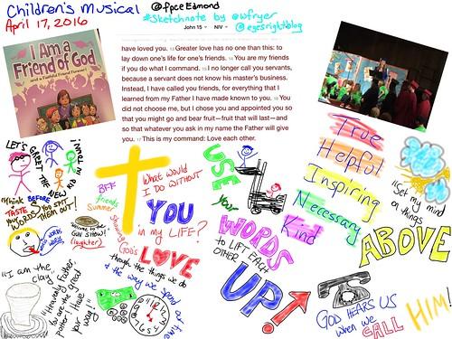 Children's Musical Sketchnote by Wesley Fryer, on Flickr