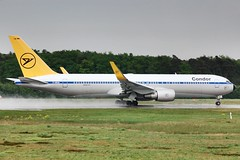 Condor retro livery -B767 (jim_roos1987) Tags: airport frankfurt retro boeing condor departure fra 2014 fraport b767