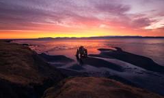 Icelandic Seastack (mitalpatelphoto) Tags: ocean travel blue mountain water horizontal clouds landscape photography is iceland nikon rocks northwest arches visit adventure explore seastack seaarch surnise hvitserkur vatnsnesvegur