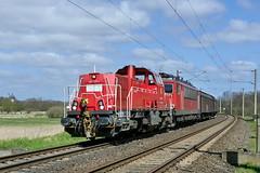 P2240919 (Lumixfan68) Tags: eisenbahn db cargo bahn 261 deutsche zge loks baureihe gravita voith gterzge dieselloks 10bb rangierloks