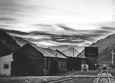 2016.0028 - Bike tour through the Andes (Adriano Aquino) Tags: world trip sky blackandwhite tourism argentina bike train tour trainstation andes ceu roadtrain lascuevas