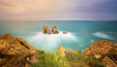 La Puerta (Mer SGarca) Tags: sunset paisajes costa seascape canon landscape coast landscapes mar sunsets paisaje rocas cantbrico canon1740l canon6d nisifilter nisifilters nisifilterholder