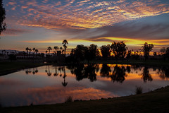 Tee Time (skram1v) Tags: colors breakfast sunrise golf time sandwich countryclub tee palmdesert feb2016
