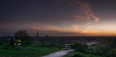 Norwich Skyline v2.jpg (emmersonkeith) Tags: uk pink blue trees sunset orange building green night clouds 35mm landscape prime golden photo nikon memorial view cathedral norfolk scenic panoramic hour norwich faceless dogwood challenge mottram d3300 norwichnight dogwood52