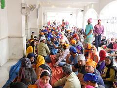 SikhTempleNewDelhi028 (tjabeljan) Tags: india temple sikh newdelhi gaarkeuken sikhtemple gurudwarabanglasahib